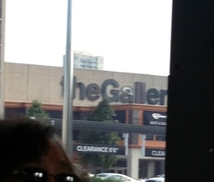A woman actually asked if this stop was the closest to the Galleria.